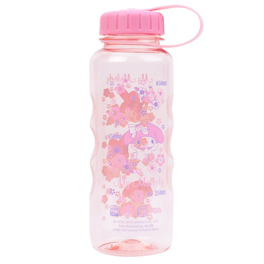 My Melody Water Bottle 膠水樽(650ml)