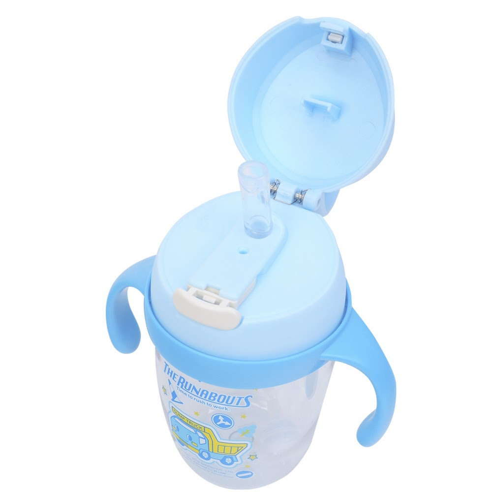 The Runabouts Sippy Cup w/ Handle & Lock 飲管杯連手柄及安全匙扣(240ml)