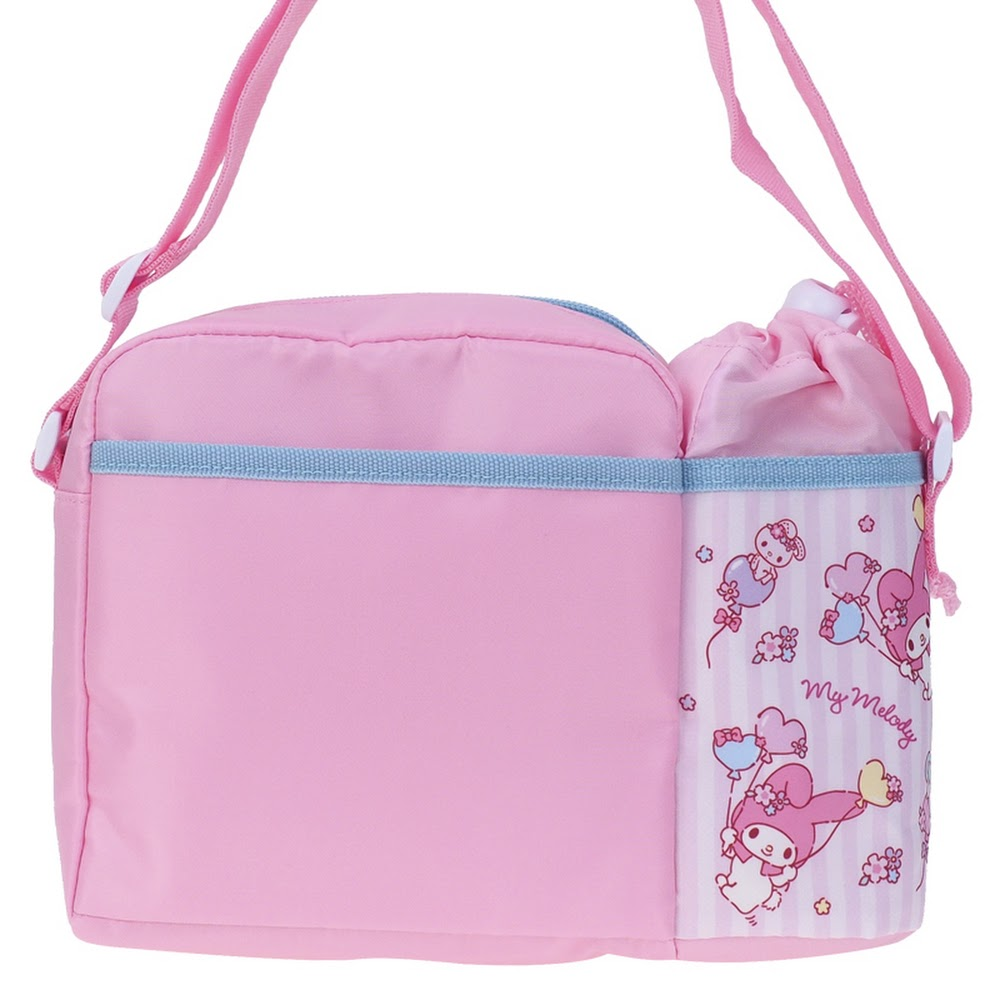 My Melody Kid's Shoulder Bag with Bottle Bag 小童斜揹袋(連水樽格)