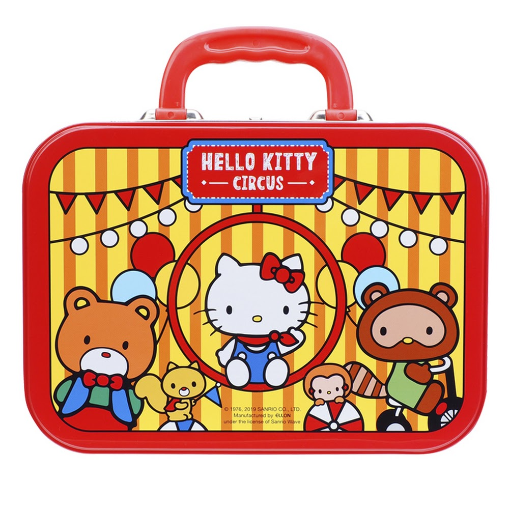 Hello Kitty Stationery Set w/ Tin Box 文具套裝(鐵盒)