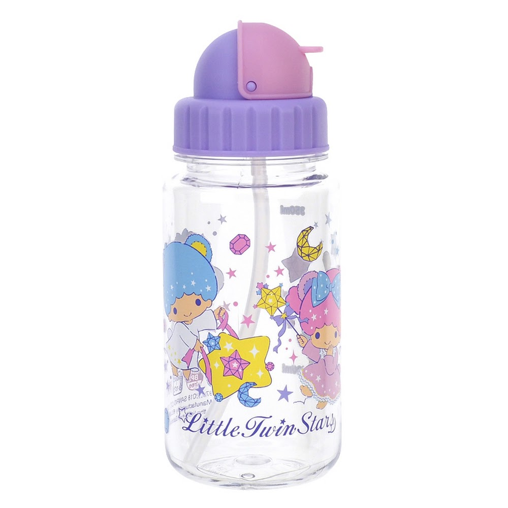 Little Twin Stars Water Bottle 膠水樽(350ml)(5天內發貨)