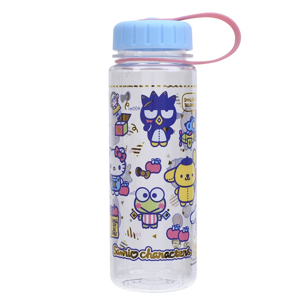 Mix Characters Water Bottle 膠水樽(450ml)(5天內發貨)