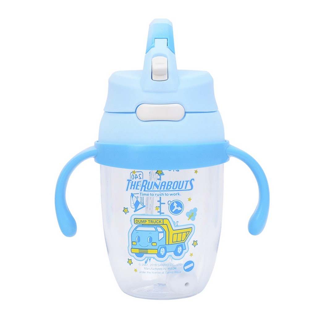 The Runabouts Sippy Cup w/ Handle & Lock 飲管杯連手柄及安全匙扣(240ml)(5天內發貨)