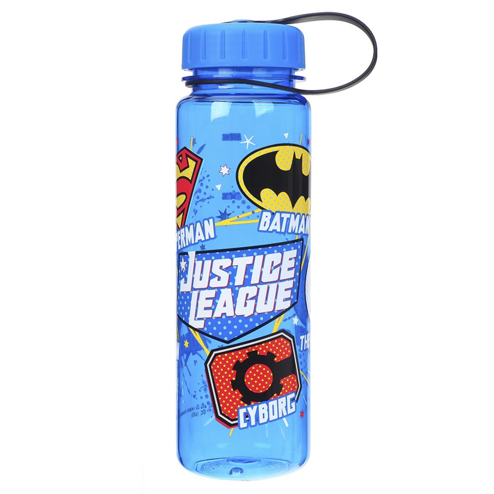 Justice League Water Bottle 膠水樽(500ml)(5天內發貨)