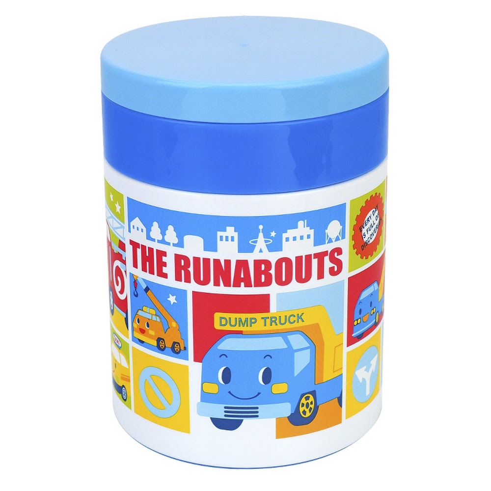 The Runabouts Stainless Steel Vacuum Food Jar 真空保溫壺(不銹鋼)(5天內發貨)