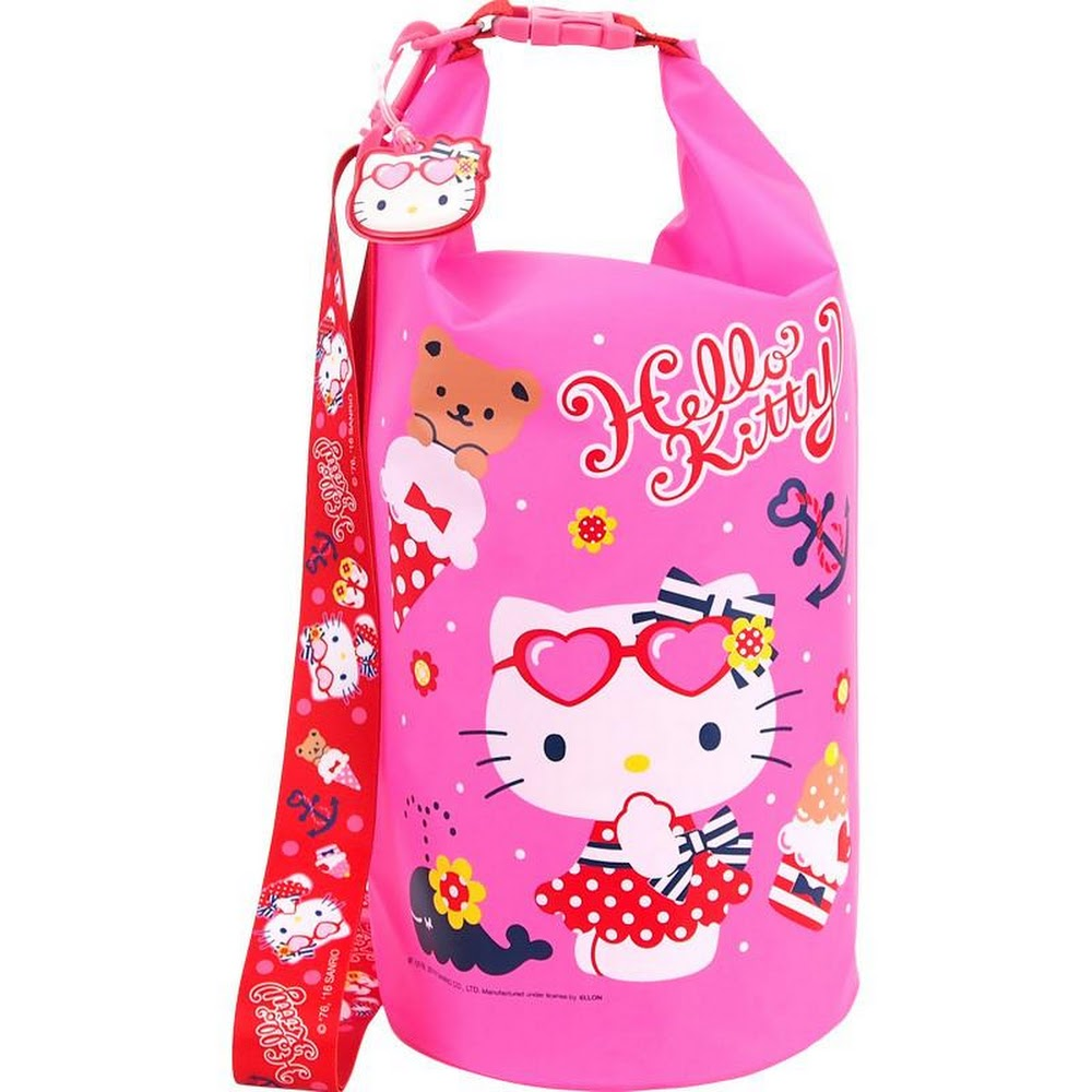 Hello Kitty Waterproof Bag (10L) 戶外防水袋 (10L)(5天內發貨)